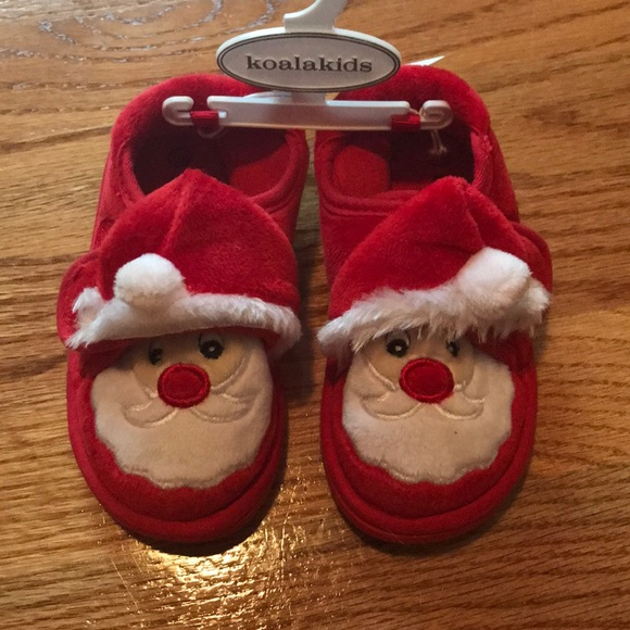 d8cdf30cf76 Toddler Santa Slippers